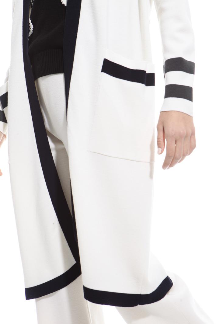 Virgin wool cardigan Diffusione Tessile