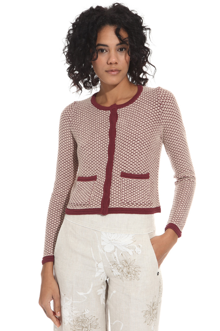 Two-tone cardigan Intrend