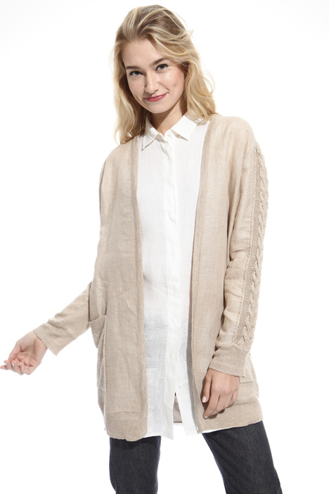 Pure linen cardigan Intrend