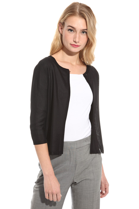 Glossy viscose shrug Intrend