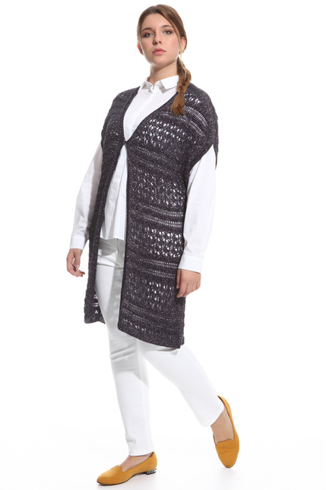 Lurex crochet cardigan Intrend