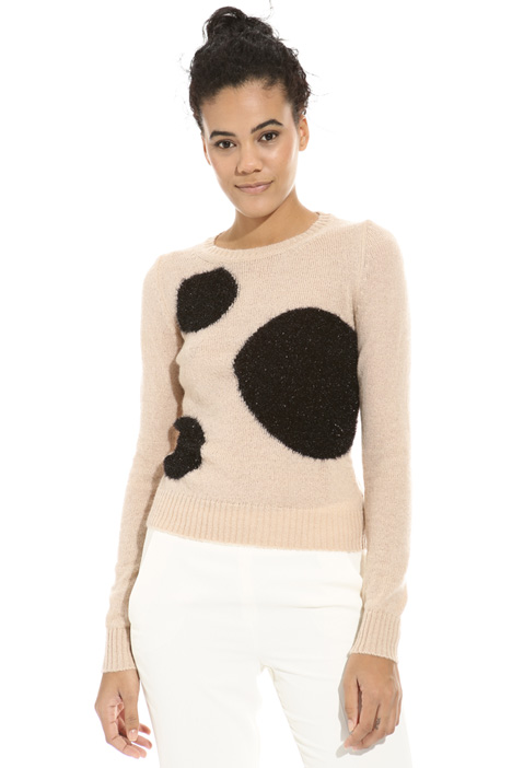 Lurex design sweater Intrend