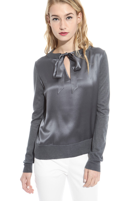 Silk and cashmere sweater Diffusione Tessile