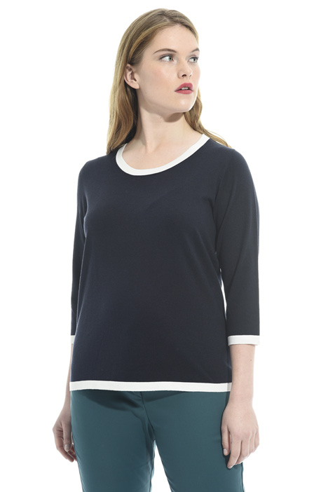 Silk and cotton sweater Diffusione Tessile