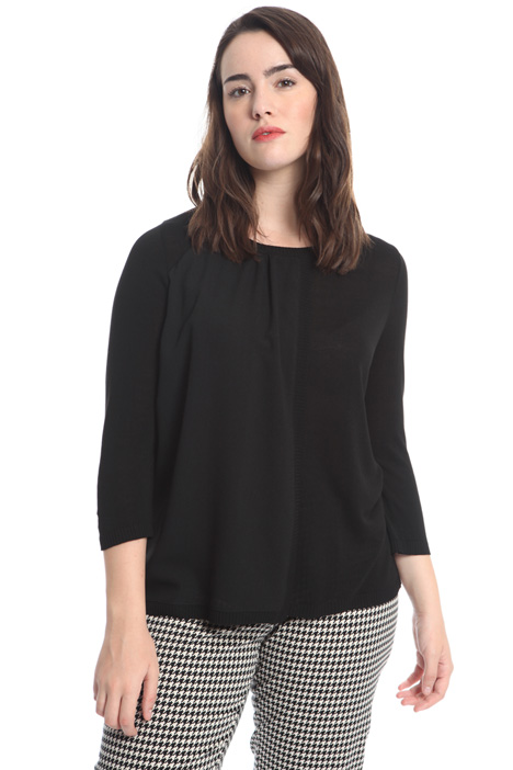 Fluid viscose sweater Intrend
