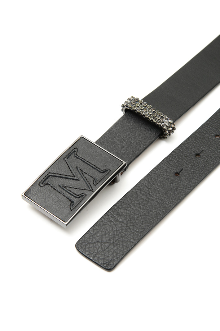 Belt with jewel-style loop Intrend