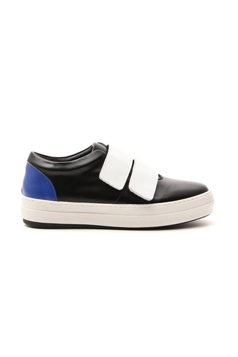Sneakers con doppio strap Diffusione Tessile