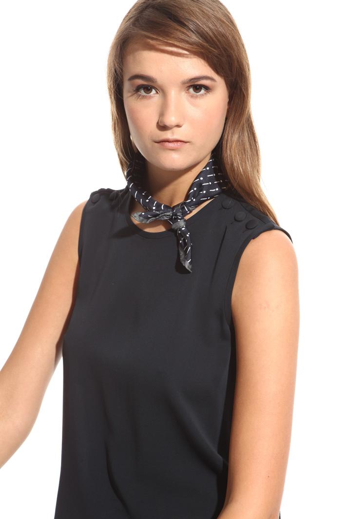 Silk twill foulard Diffusione Tessile