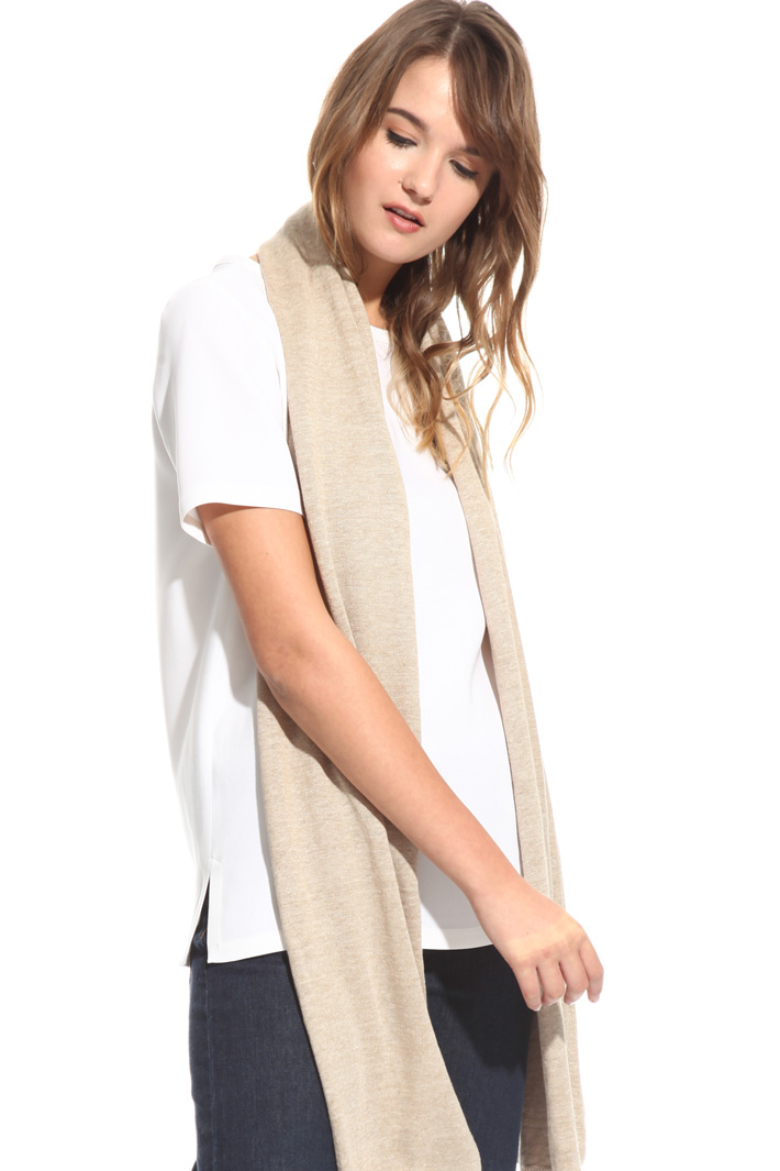 Soft scarf in pure linen Intrend