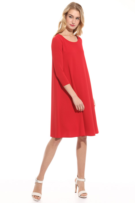 Wide viscose dress Intrend