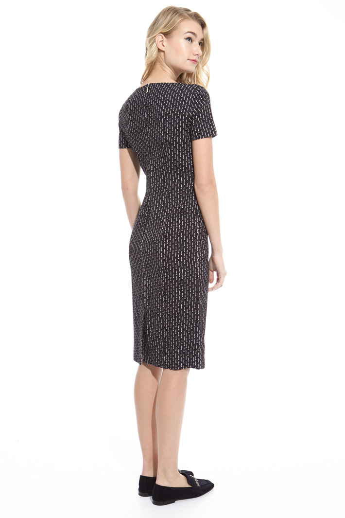 Milano stitch jersey dress Diffusione Tessile