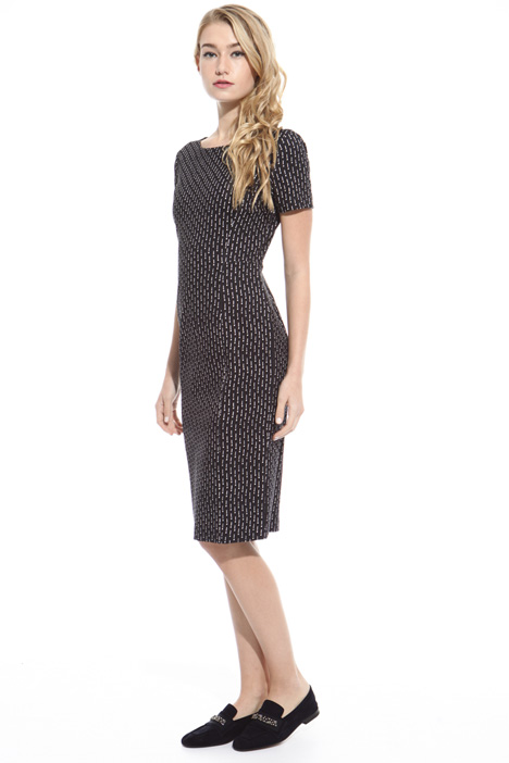 Milano stitch jersey dress Intrend