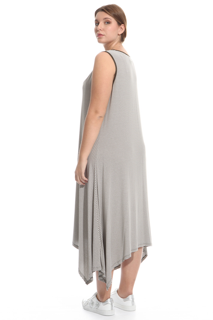 Flared jersey dress Diffusione Tessile