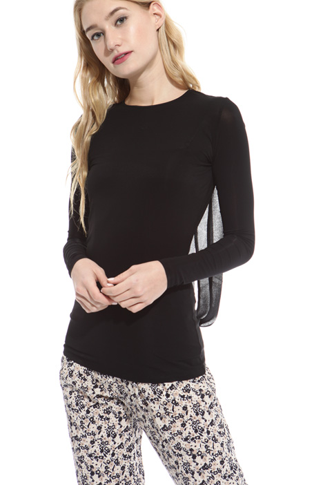 Jersey crepe T-shirt Diffusione Tessile