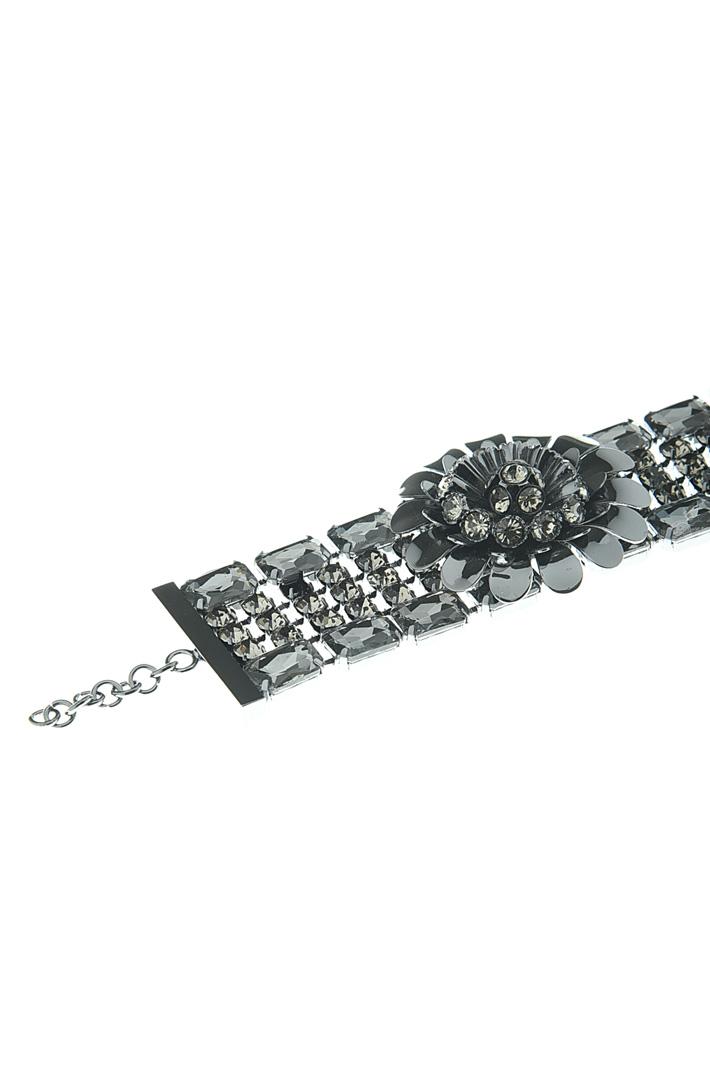 Glass stone bracelet Intrend