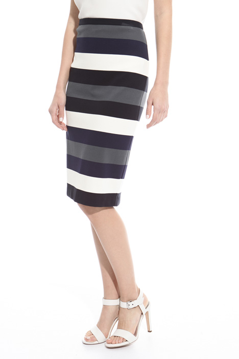 Fitted striped skirt Intrend