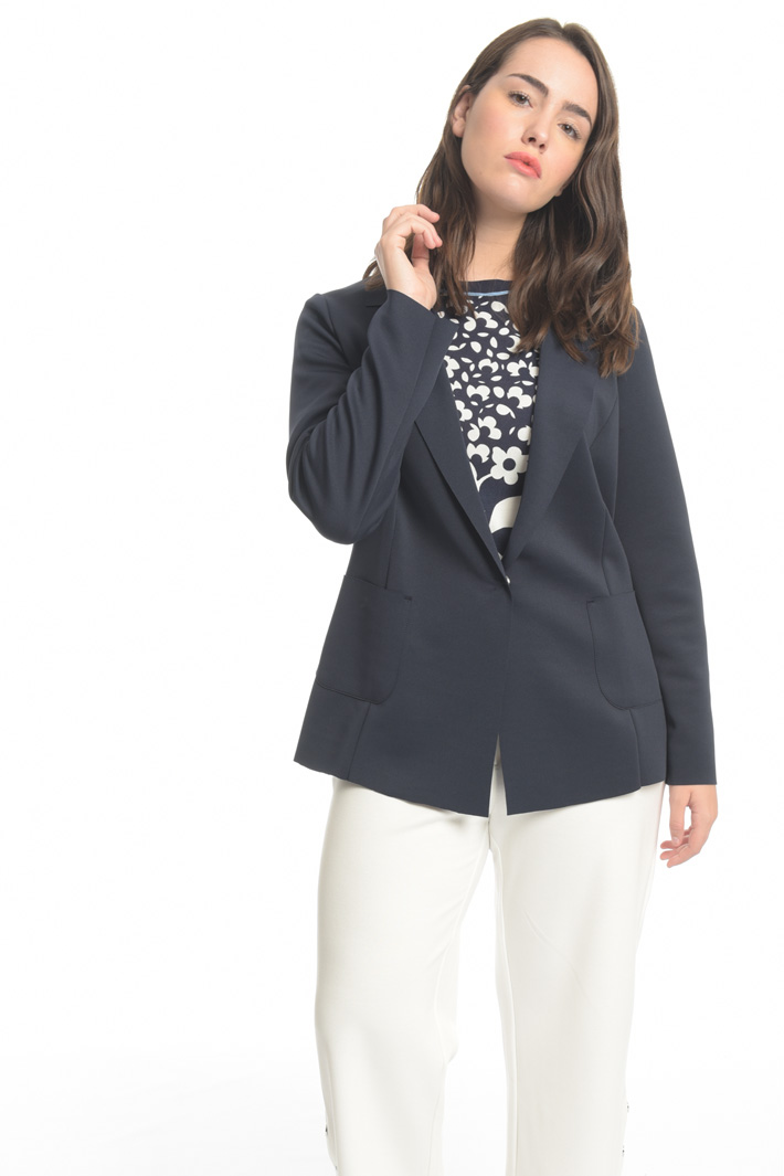 Stretch jersey jacket Intrend