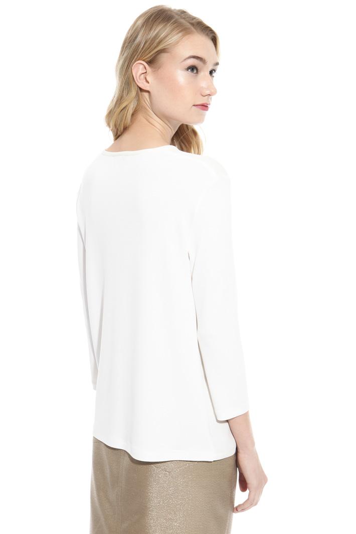 Jersey crepe blouse Diffusione Tessile