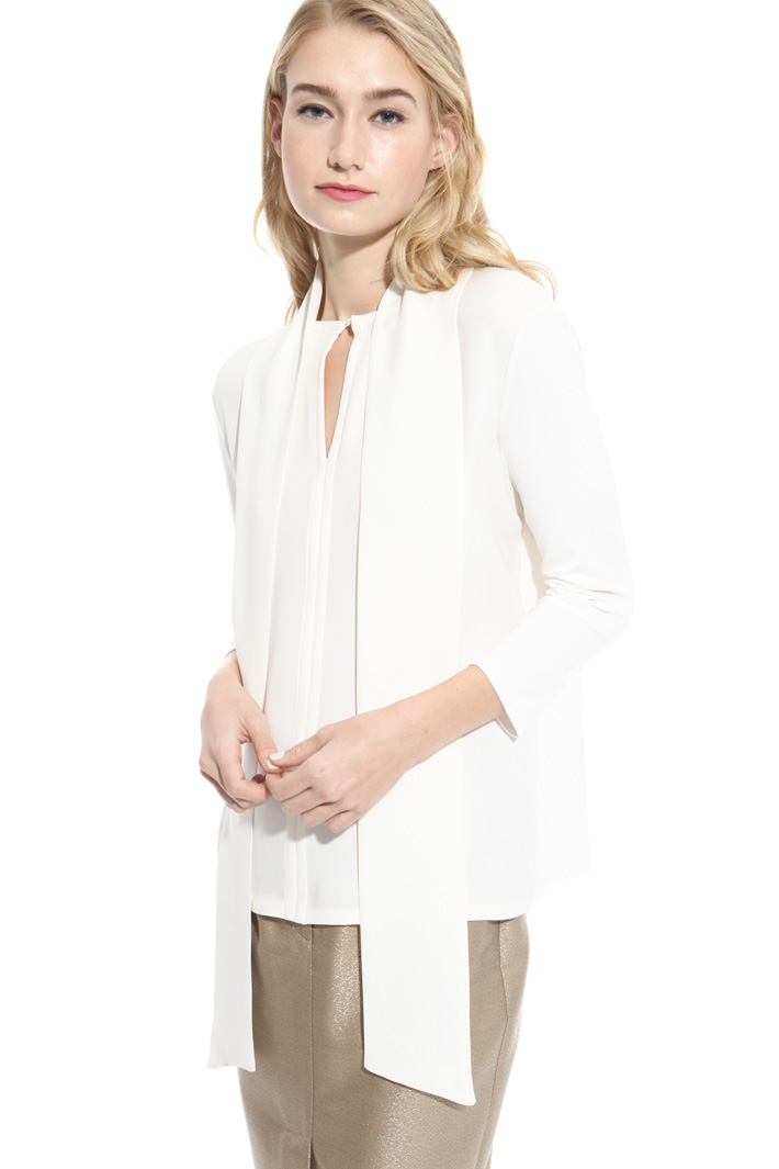 Jersey crepe blouse Diffusione Tessile