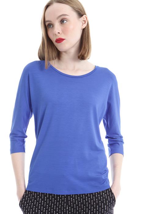 T-shirt con scollo a barchetta Diffusione Tessile