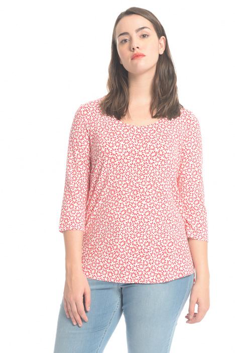 T-shirt in viscosa Diffusione Tessile