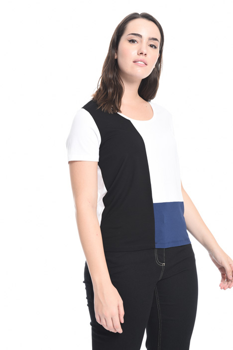 Colour-block T-shirt Diffusione Tessile