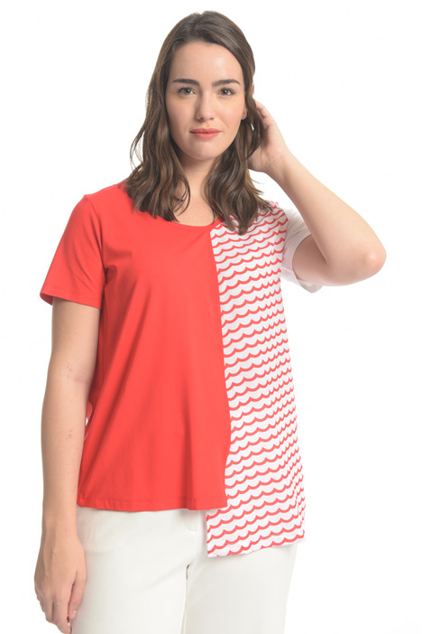 T-shirt in jersey Diffusione Tessile