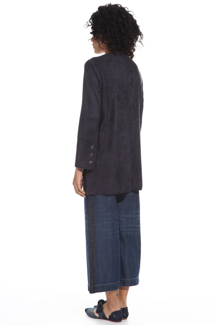 Double fabric duster coat Intrend