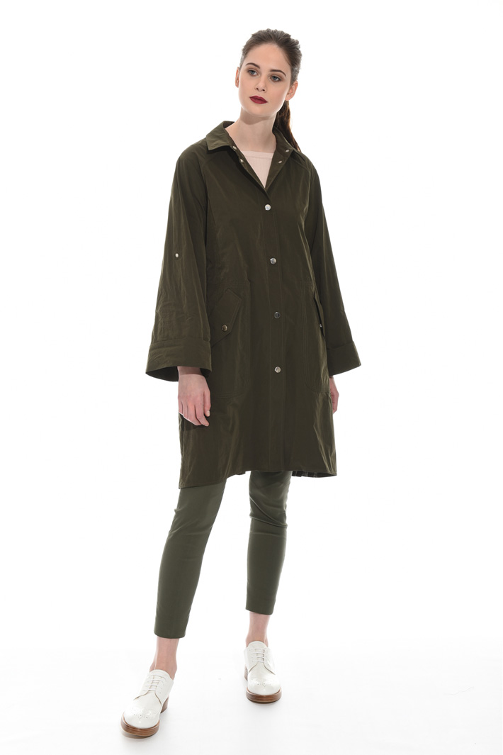 Pleated panel trench Intrend