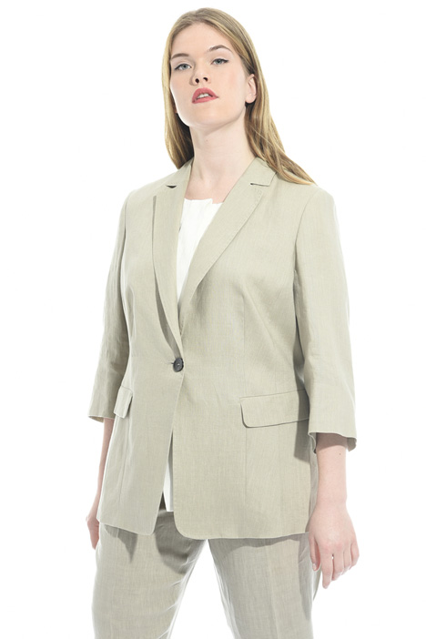 Pure linen jacket Intrend