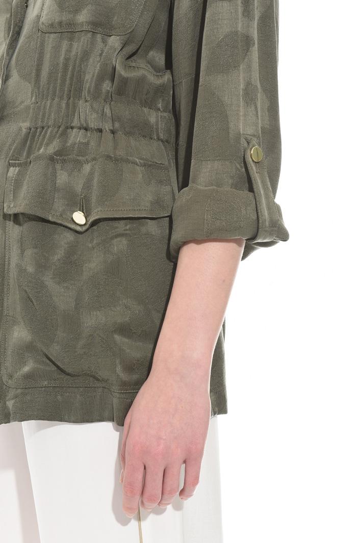 Fluid jacquard jacket Intrend