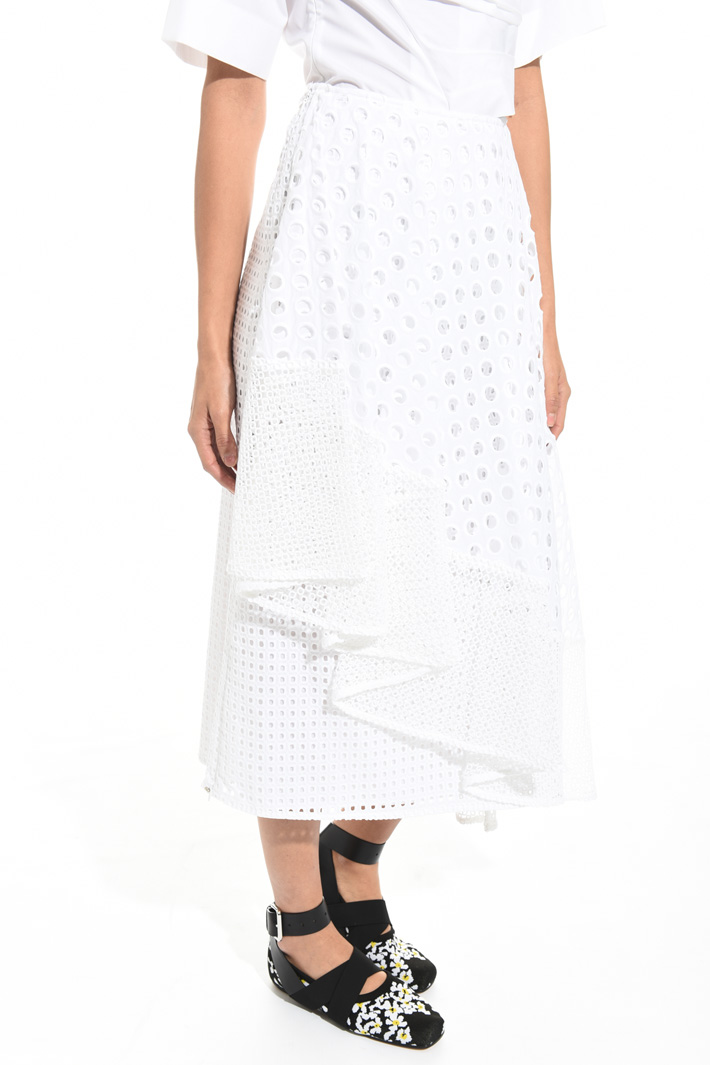 Broderie anglaise skirt Intrend