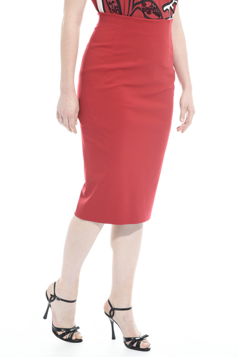 Jersey pencil skirt Diffusione Tessile