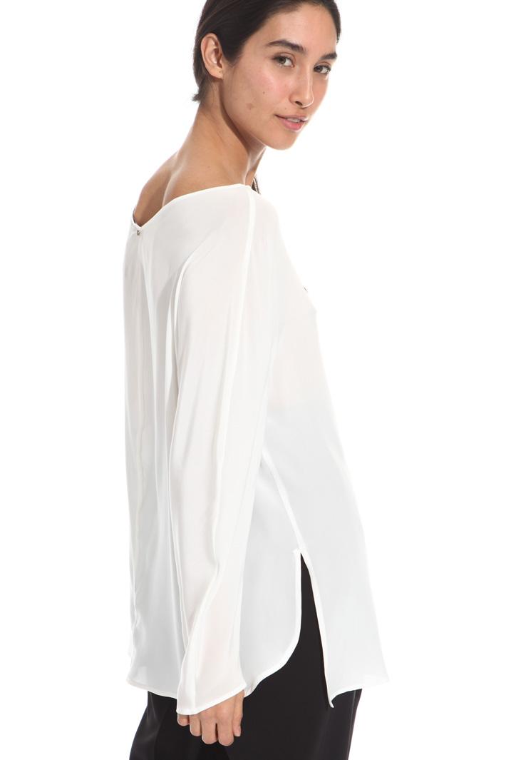Pure silk blouse Diffusione Tessile
