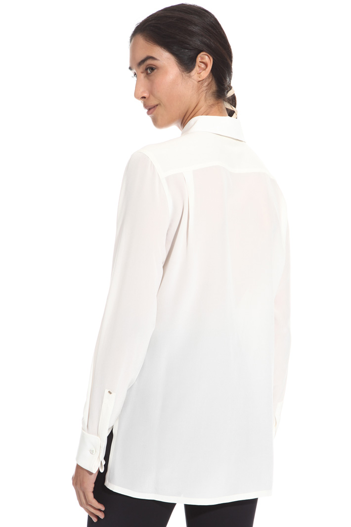 Crepe de chine shirt Intrend