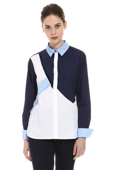 Colour-block shirt Intrend