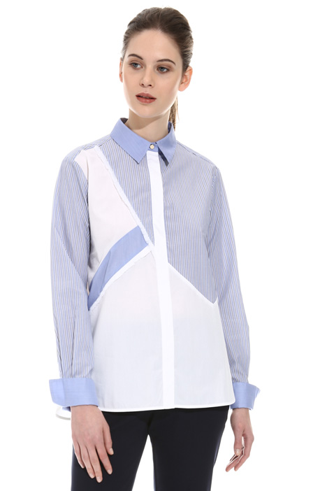 Colour-block shirt Intrend