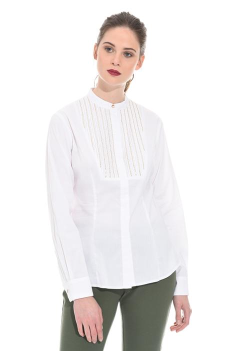Bijou detail shirt Intrend