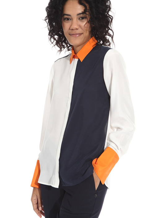 Habotai silk shirt Intrend