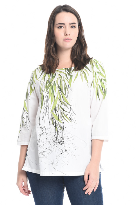 Printed poplin tunic Intrend