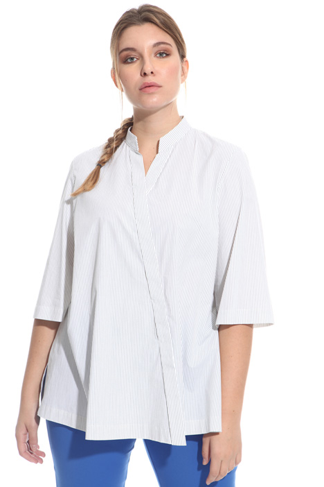 Asymmetric cotton shirt Intrend