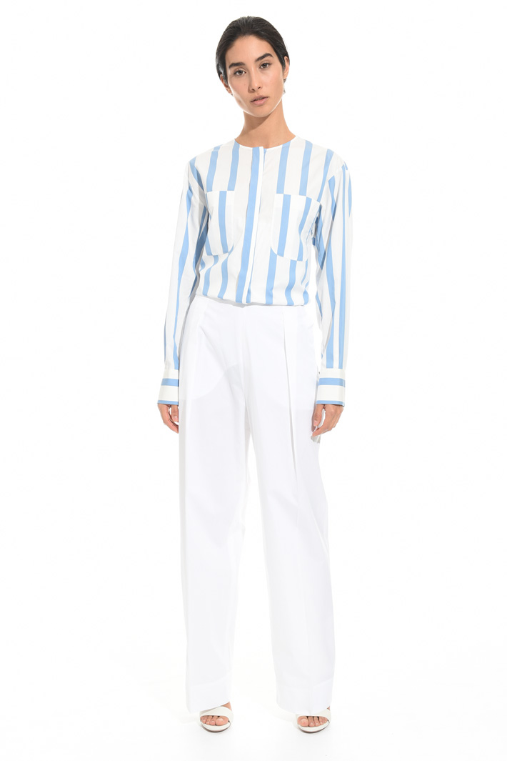 High waisted wide trousers Intrend