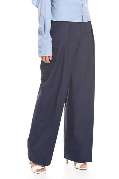 High waisted wide trousers Diffusione Tessile