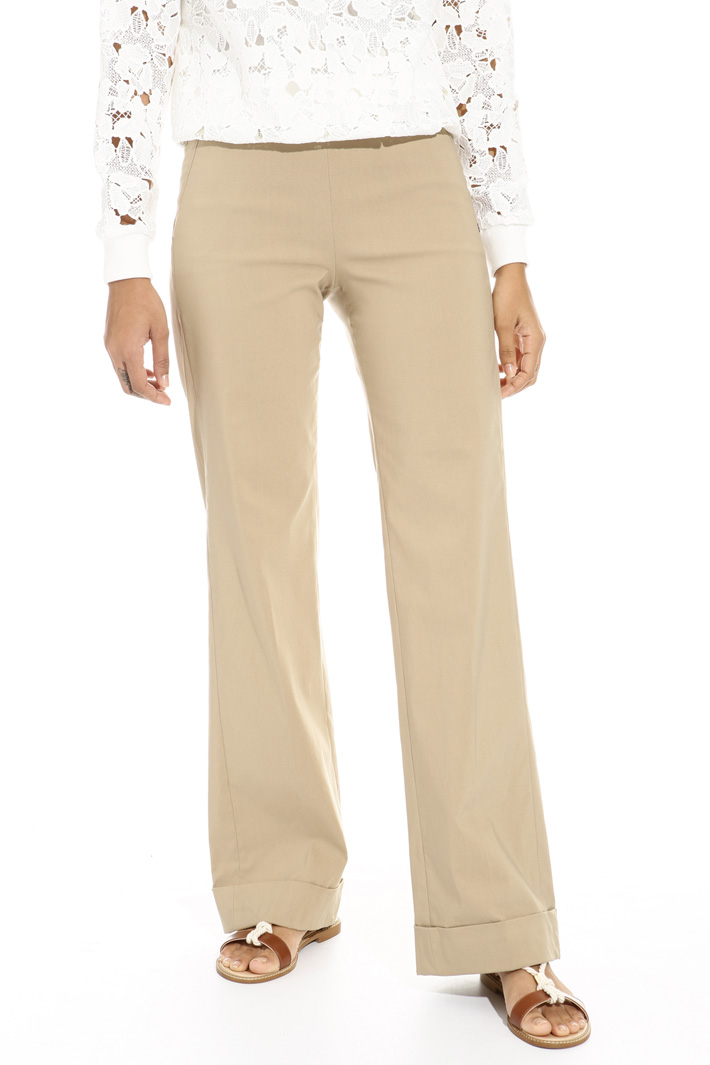 Turn-up cuff trousers Intrend