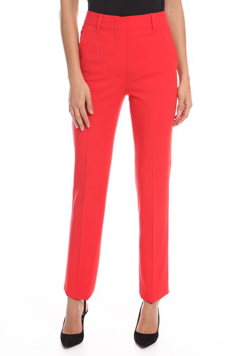 Pantalone a sigaretta in lana Diffusione Tessile