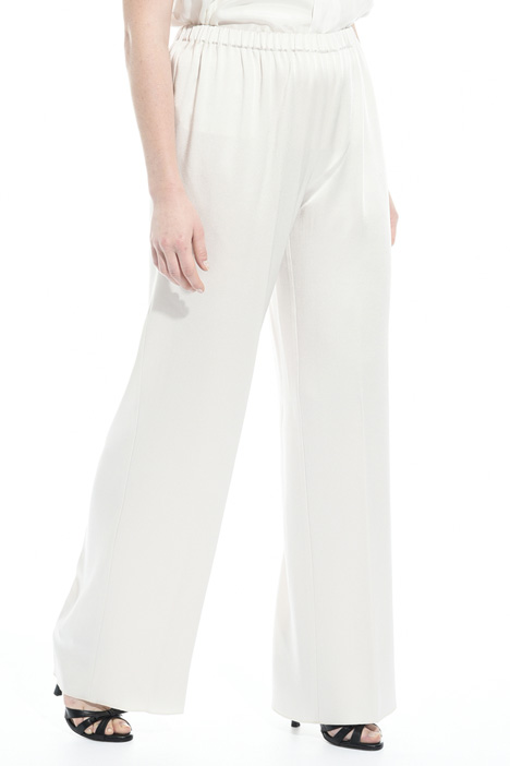 Trousers in fluid frisottino Intrend