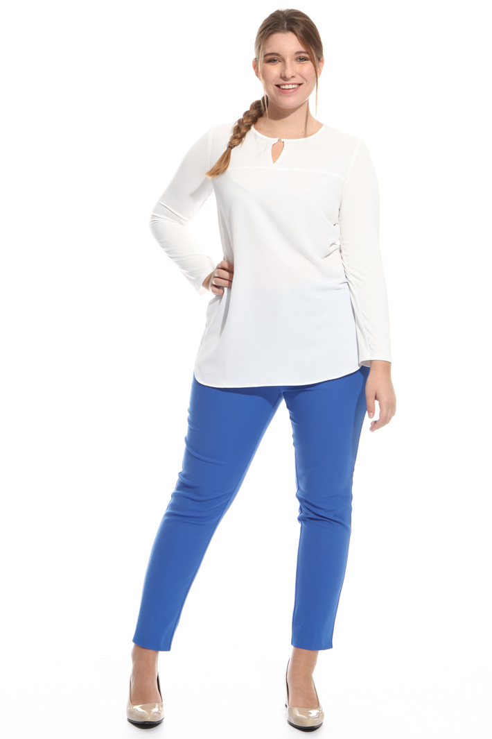 Pantalone in cotone stretch Intrend