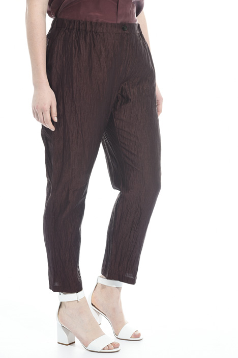 Silk and linen trousers Diffusione Tessile