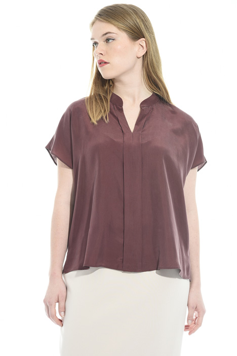Habotai silk top Intrend