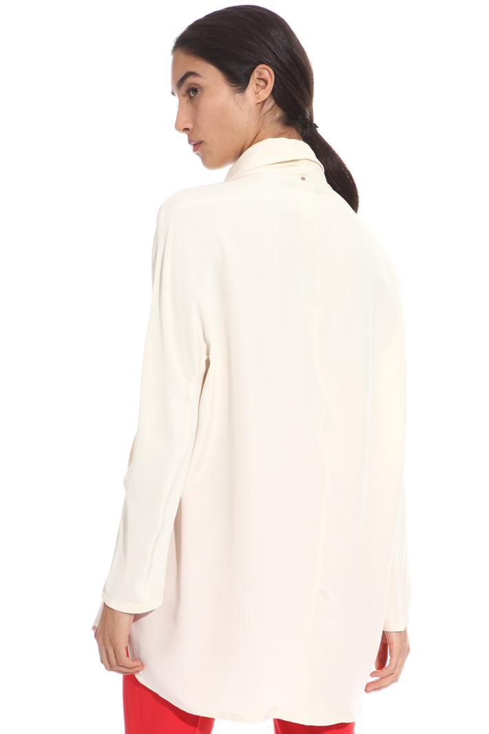 Heavy silk tunic Diffusione Tessile